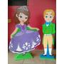 Figuras En Mdf Princesa Sofia