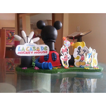 Casa De Mickey Mouse (masa Flexible)