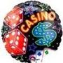 Globos Metalizados De Casino 18 Pulgadas