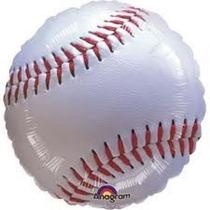 Globos Metalizados Pelotas De Beisbol Y Futbol 18 Pulgadas