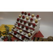 Escalera / Grada Plástica Para Cupcakes, Ponquecitos, Shots