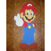 Mario Bros Personaje Nintendo En Foami Para Decorar