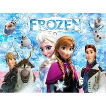 Kit Imprimible Frozen Oferta 2x1 Tarjeta Decoracion Fiesta