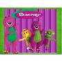 Kit Imprimible Barney Ofeta 2x1 Tarjeta Decoracion Fiesta