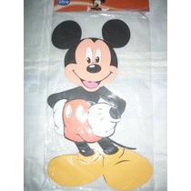 Figura Mickey Mouse Decoracion Foami Habitacion Fiesta Mural
