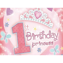 Kit Imprimible 1st Birthday Princess Tarjeta Decoracion Idea