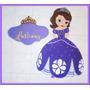 Princesa Sofia-disney-figura Cartel Foami-fiesta-decoración.