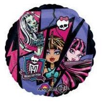 Globos Metalizados Monster High En 18 Pulgadas