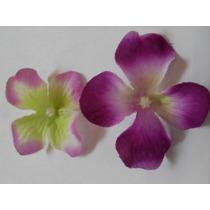 12 Flores De Tela Para Manualidades Jabones Lazos Cintillo