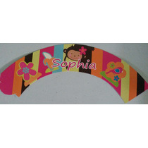 Capacillos Wrappers Y Toppers Para Cupcakes Ponquecitos