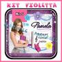 Kit Imprimible Violetta Tarjetas Cupcakes Moldes Gorritos