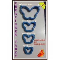 Cortador De Mariposas Para Masa Flexible, Fondant