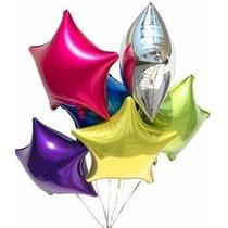Globos Metalizados Dia De Madre-cumpleaños-helio- Cotillon
