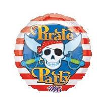 Globos Metalizados De Pirata De 18 Pulgadas