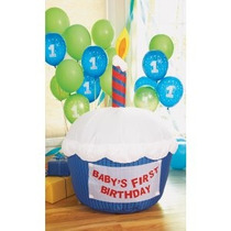 Cupcake Inflable Ideal Para Tu Fiesta De Cumpleaños