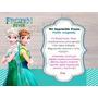 Kit Imprimible Frozen Fever Fiebre Congelada Fiesta Cotillon