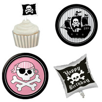 Toppers Cup Cake Ponquesitos Capacillos Piratas Dinosaurio