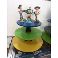 Base Para Ponques Cupcakes Mdf 3 Niveles Toy Story