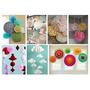 Tutorial Decoracion De Papel, Manualidades, Flores, Pompones
