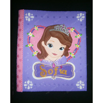 Disney Princesa Sofia Carpeta Decorada -niñas Bebes Frozen