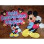 Mickey Figuras Foami Para Decorar 80cm