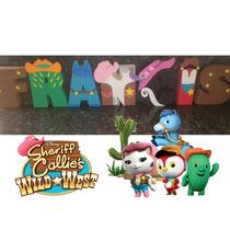 Letras 3d Para Decoración Fiesta Infantil Peppa Frozen Lego