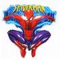 Globo Spider-man Hombre Araña Metalizado Cuerpo Completo