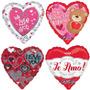Globos Metalizados De Amor 18 Pulgadas Dia De Los Enamorados