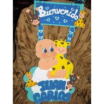 Bienvenidos Nacimiento Baby Shower Foami..