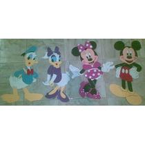 Figuras De Foami Minnie , Mickey