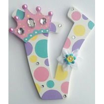 Letras En Mdf Nombre Infantil Nacimiento Candy Bar