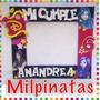 Marcos Para Fiestas Piñatas.descendientes,frozen,peppa