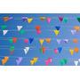 76 Banderines 30m Decoracion Bautizos Matrimonio Baby Shower