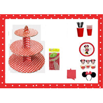 Porta Cupcakes Ponquesitos Ideal Fiestas - Pitillos - Vasos