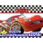 Kit Imprimible Cars 2 Diseñá Tarjetas , Cumples Y Mas