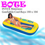 Bote Inflable Intex Tipo Malla Cool Rays 188 X 104 Adulto