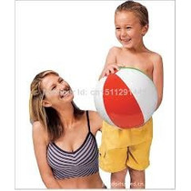 Pelota Inflable Intex De Playa-piscina De 41 Cm Para Niños