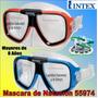 Mascara De Natacion Niños Adultos 55974 Piscina Playa Intex