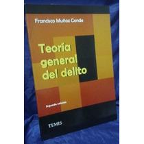 Teoria General Del Delito Muñoz Conde