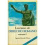 Vendo Dos Volúmenes De Lecciones De Derecho Romano Olivero.