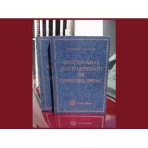 Libro Diccionario Enciclopedico De Derecho Usual Cabanellas