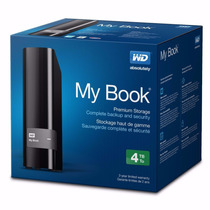 Disco Duro Externo 4tb Western Digital My Book Usb 3.0