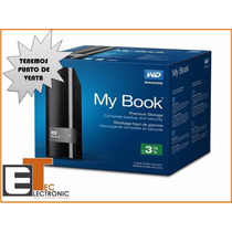 Disco Duro Externo Western Digital My Book 3tb Usb 3.0