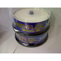 Disco Blu-ray 50 Gb Gtm Printeable Unidad Factura Legal