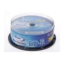 Discoss Blu-ray Sg-digital 25 Gb Printeable Paq. 50 Unidad