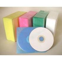 100 Estuche Bolsa Funda Plástica Tipo A Cd-r Dvd-r 5 Color