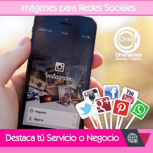 Diseño Gráfico | Imágenes Redes Sociales | Pag Web | Logos