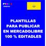 Plantillas Para Publicar En Mercadolibre Editables
