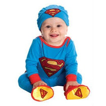 Disfraz De Superman Talla 6-12 Meses