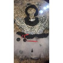 Disfraz Dalmata Para Niña Vestido Talla 18 Meses Tutu